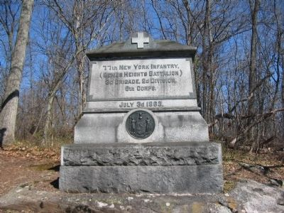 77th New York Infantry Monument image. Click for full size.