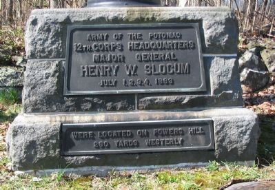 Close Up of Plaques image. Click for full size.