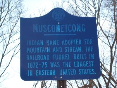 Musconetcong Marker image. Click for full size.