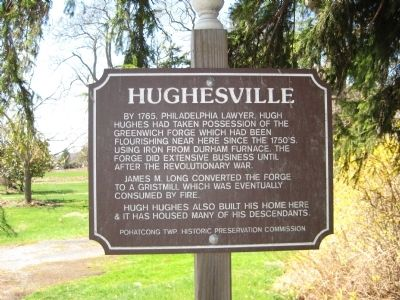 Hughesville Marker image. Click for full size.