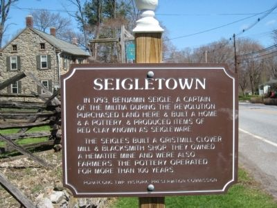 Seigletown Marker image. Click for full size.