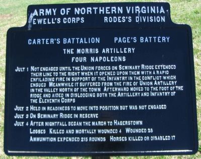 The Morris Artillery Tablet image. Click for full size.