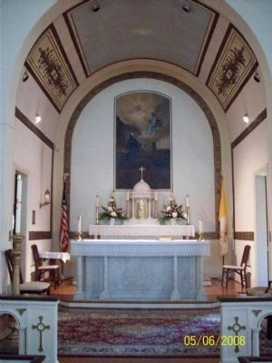 St. Ignatius Catholic Church Altar image. Click for full size.