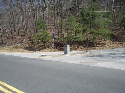 Marker in Brookfield, Mass image. Click for full size.