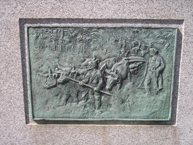 Detail of Plaque on Marker image. Click for full size.