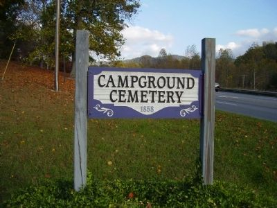 Campground Cemetery (1858) image. Click for full size.