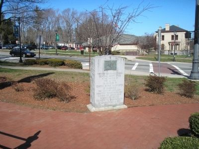 Marker on the Shrewsbury Common image. Click for full size.