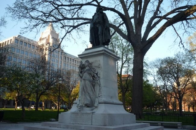 John Barry Memorial, Franklin Square image. Click for full size.