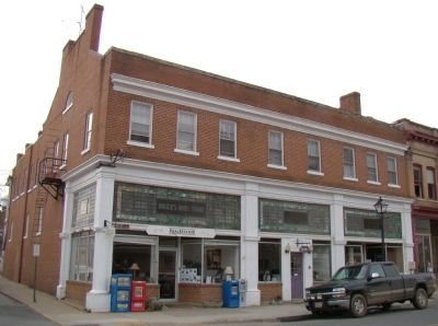 Former Bruce's Drug Store Building image. Click for full size.