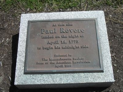 Paul Revere Marker image. Click for full size.