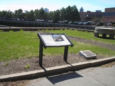 Paul Revere Markers in Boston Nat'l Historic Park image. Click for full size.