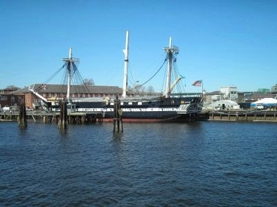 """Old Ironsides"" image. Click for full size."