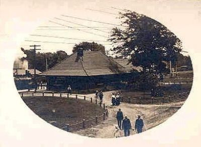 Milford Railroad Station image. Click for full size.