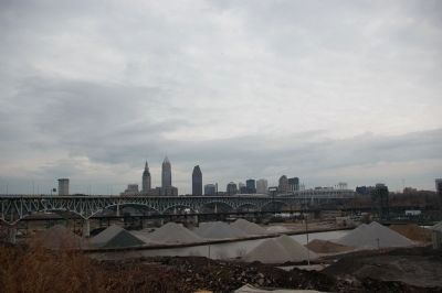 The Cleveland skyline image. Click for full size.