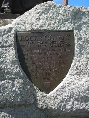 Roger Conant Marker image. Click for full size.