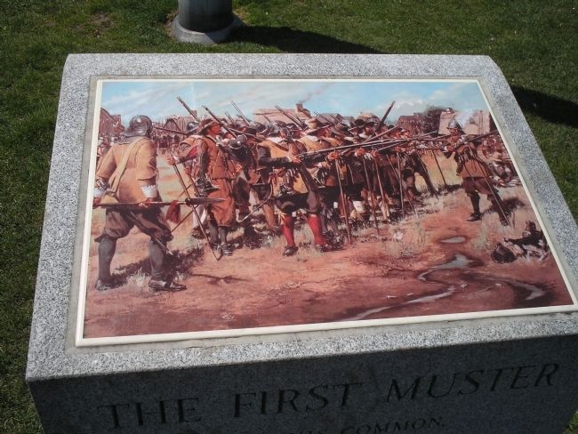 The First Muster Picture from the Marker image. Click for full size.