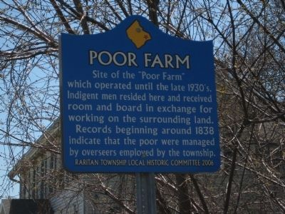Poor Farm Marker image. Click for full size.