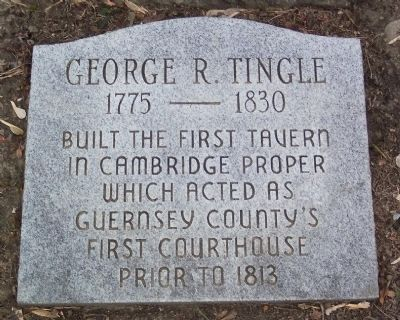 George R. Tingle Marker image. Click for full size.