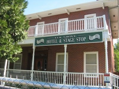 Elk Grove Hotel and Stage Stop Museum - Elk Grove House image. Click for full size.