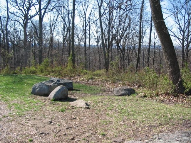 Remains of Earthworks image. Click for full size.
