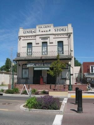 Hasman Building/General Store image. Click for full size.