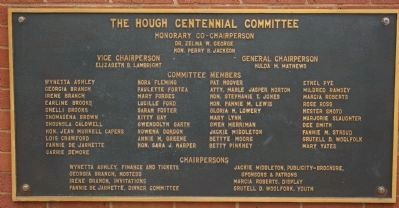 The Hough Centennial Committee image. Click for full size.