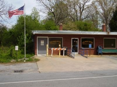 The Tigerville Post office as of today. image. Click for full size.