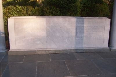 George Mason Memorial - Inscriptions image. Click for full size.