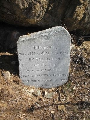 This Bluff Marker image. Click for full size.