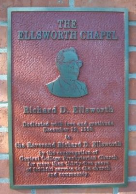 The Ellsworth Chapel Marker image. Click for full size.