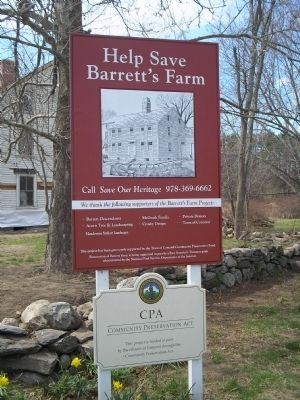 Help Save Barrett's Farm image. Click for full size.