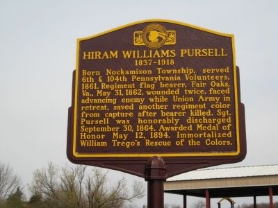 Hiram Williams Pursell Marker image. Click for full size.