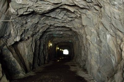 Granite Canyon Power Tunnel image. Click for full size.