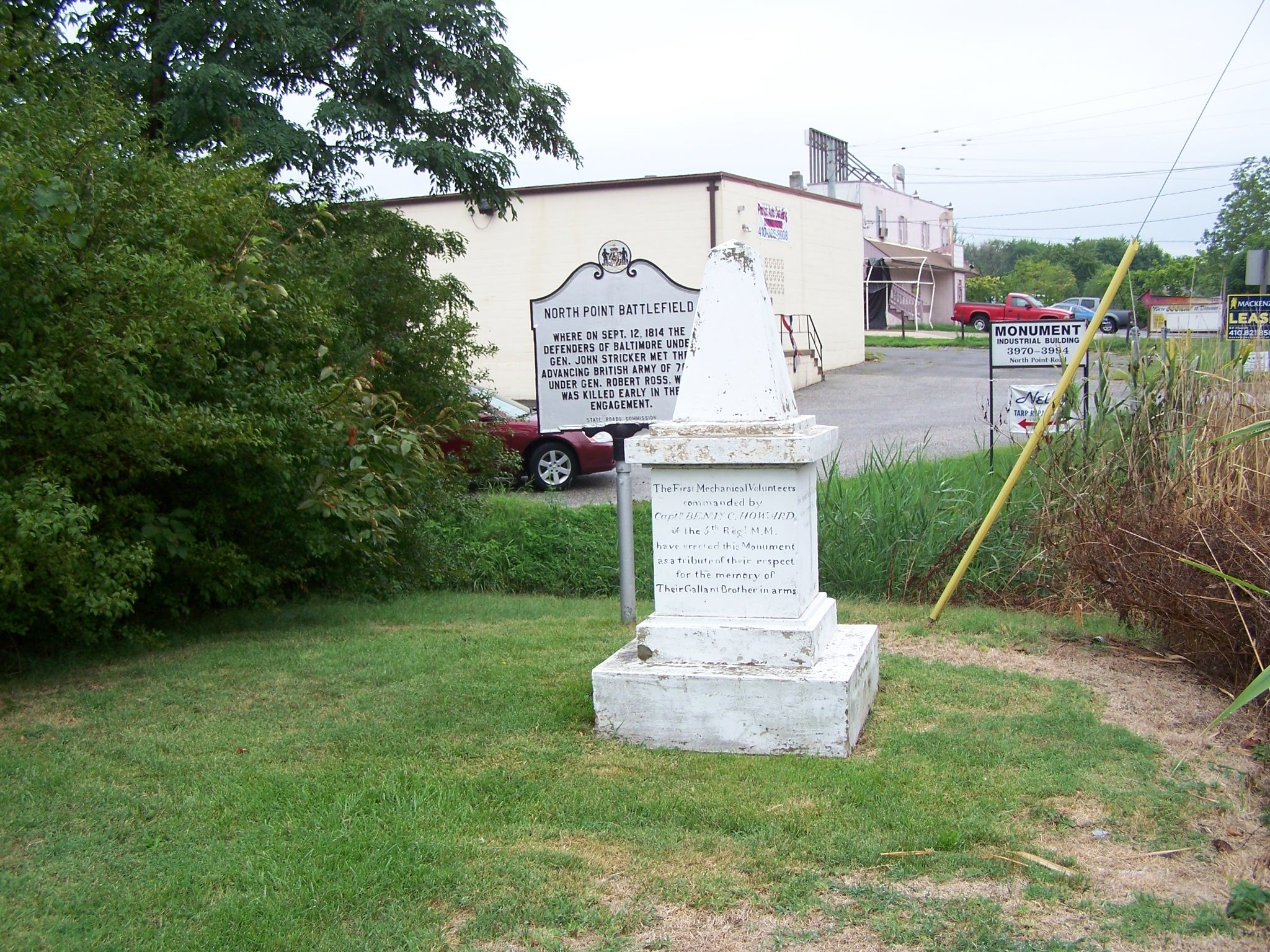 Monument and Marker