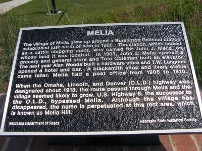 Melia Marker image. Click for full size.