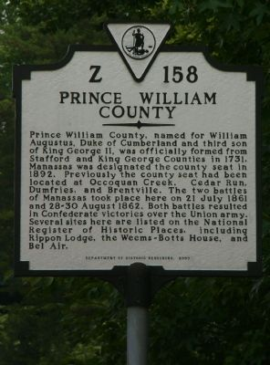 Prince William County Face image. Click for full size.