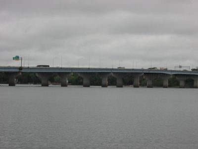 St. Croix River at I-94 Bridge image. Click for full size.