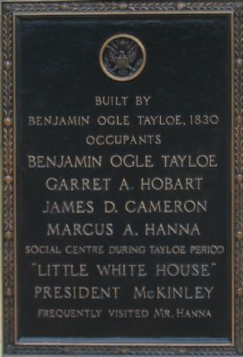Little White House Marker image. Click for full size.