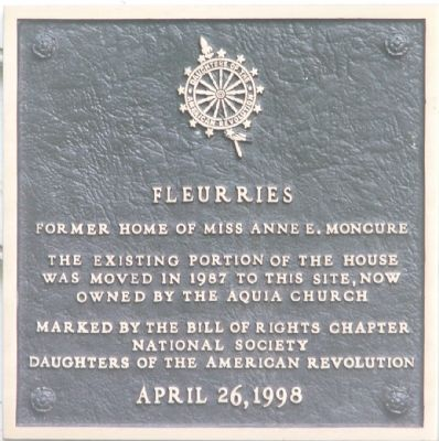 Fleurries Marker image. Click for full size.