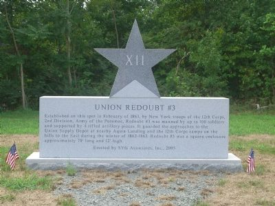 Union Redoubt # 3 Marker image. Click for full size.