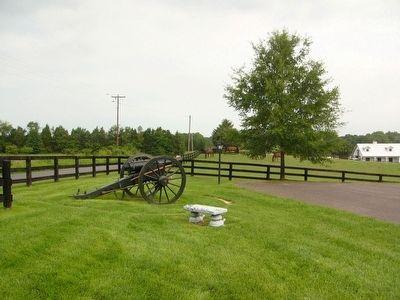 Artillery Piece near Kelly's Ford Marker image. Click for full size.