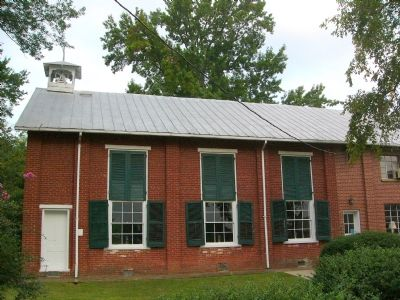 Hartwood Presbyterian Church - Side image. Click for full size.