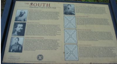 The Old Southern Leaders Marker image. Click for full size.