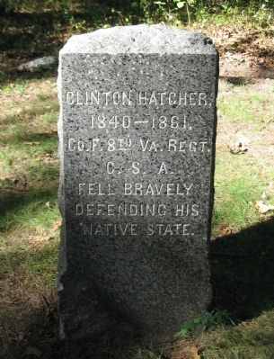 Clinton Hatcher Marker image. Click for full size.