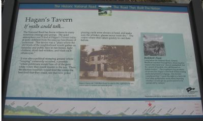 Hagan's Tavern Marker image. Click for full size.