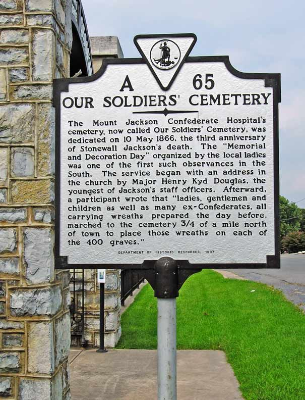 Marker, Our Soldiers