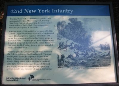 42nd New York Infantry Marker image. Click for full size.