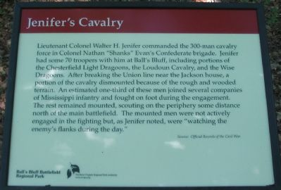 Jenifer's Cavalry Marker image. Click for full size.