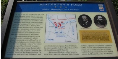 Blackburn's Ford Marker image. Click for full size.