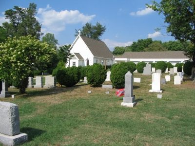 St. John's Episcopal Church Cemetery image. Click for full size.
